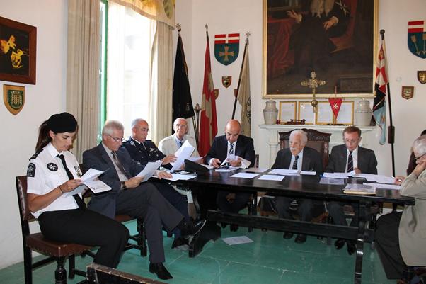 St John Malta Annual General Meeting 2014